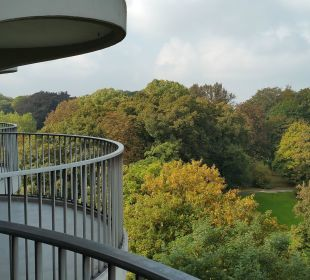 Balkon Dorint Hotel An der Kongresshalle Augsburg
