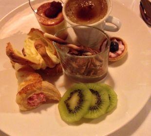 Auswahl vom Nachtischbuffet Beauty & Wellness Resort Hotel Garberhof