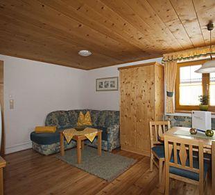 Wohnraum 2 Apartment Breitlehn