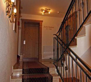 Treppenaufgang Hotel Loipenstub'n