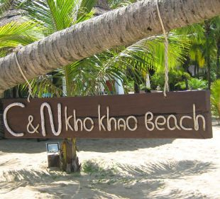 Hotelstrand C&N Kho Khao Beach Resort