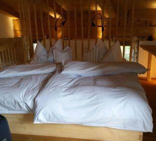 Liebevoll gestaltetes Schlafzimmer Hotel Hagerhof