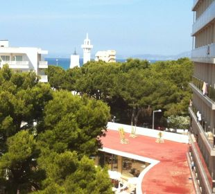 Ausblick vom Balkon (4. Etage) Appartments Pabisa Orlando