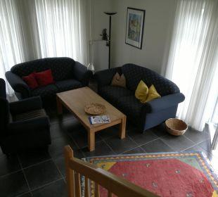 6 Personen-Haus Nr. 91 a - Wohnzimmer Eve Resort & Spa