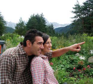 Die Umgebung bewundern Naturpark Hotel Stefaner