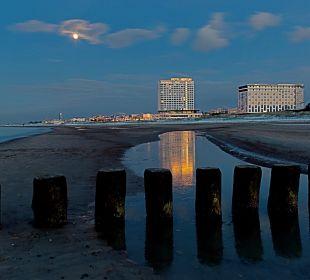 Blick zum Neptun  Hotel Neptun