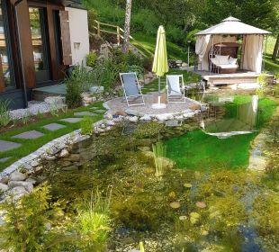 Schwimmteich 1 Gartenhotel THERESIA