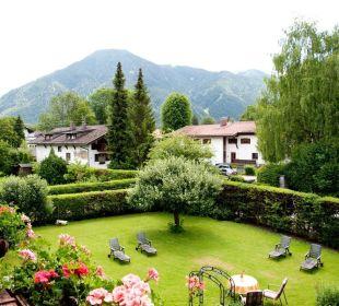 Blick vom Zimmer auf den Wallberg Gästehaus Hotel Garni Zibert
