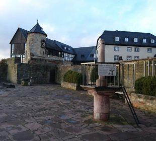 Außenbereich Hotel Schloss Waldeck