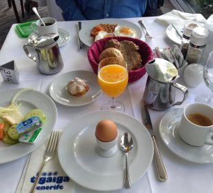 Frühstück Hotel Tigaiga