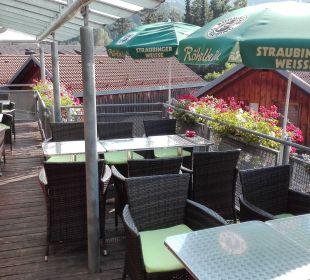 Restaurant (Außenbereich) Hotel Bayerischer Wald