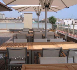 Terrasse Hotel Ciutat de Barcelona