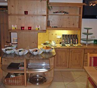 Vorspeisen- und Salatbuffet Familienhotel Loipenstub'n