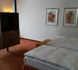 Blick vom Eingang Hotel Holiday Inn Nürnberg City Centre