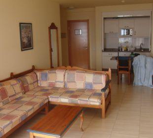 Wohnzimmer/Küche Hotel Las Olas