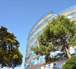 Outside view Hotel Cristallo Lignano