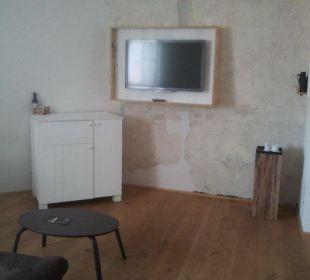 Blick zum Fernseher Hotel Wiesler