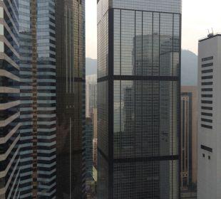 Ausblick 30. Stock Renaissance Harbour View Hotel Hong Kong