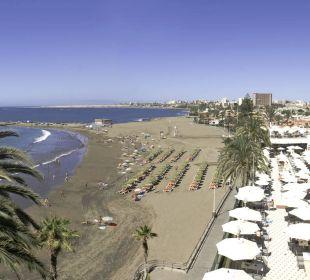 Meerblick vom Zimmer Hotel Dunas Don Gregory