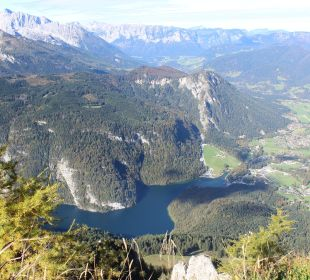 Ausblick vom Jenner Alm- & Wellnesshotel Alpenhof