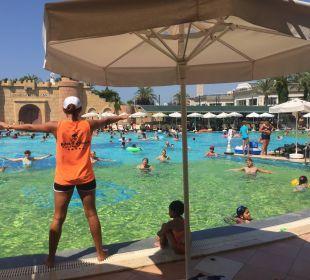 Wassergymnastik Belek Beach Resort Hotel