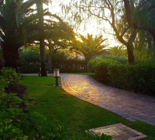 Wunderschöner Blick aus unserem Zimmer Lopesan Villa del Conde Resort & Spa