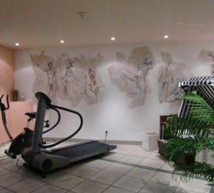 Auch für Fitness ist gesorgt Hotel Alexander am Zoo