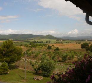 Hügellandschaft Casa Montecucco