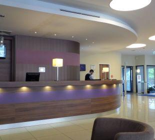 Hier arbeitet sehr freundliches Personal Hotel Holiday Inn Express Hamburg City Centre