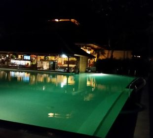 Pool mit Kinderbecken  Hotel Griya Santrian