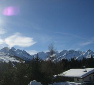 Blick in die Berge Ferienwohnungen Hochstaffl