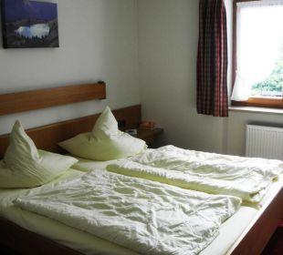 Appartement Nr. 4 - Schlafzimmer Gästehaus Sinz