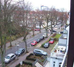 Blick zum Kurpark und Zentrum KurparkHotel Warnemünde