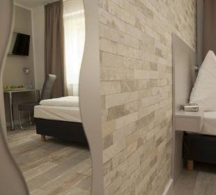 Einzelzimmer Hotel Pension Garni Kiez