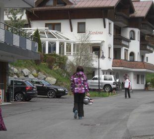 Blick auf das Hotel Hotel Garni Kardona