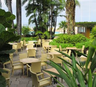 Zum draußen Sitzen Hotel Tigaiga