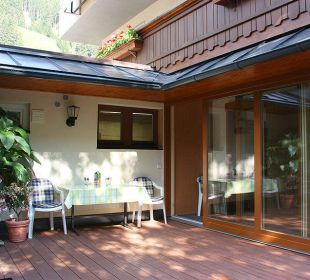 Terrasse FeWo 5-6 Personen Ferienwohnungen Annelies