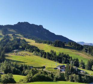 Ausblick vom Hohenweg. Landhaus Wildschütz