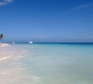 Der Strandabschnitt....Traumhaft VIK Hotel Cayena Beach Club