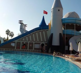 Rutschen im Arycanda Kirman Leodikya Resort