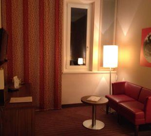 Couch zum Fernsehen NOVINA HOTEL Tillypark