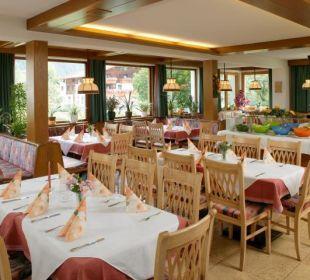 Stammrestaurant vom Gasthof Bären Holzgau Lechtal Gasthof Bären