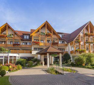 Außenansicht Ringhotel Krone Schnetzenhausen