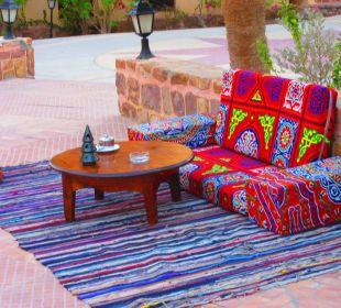 Plätze bei der Shisha Bar  Hotel Steigenberger Coraya Beach