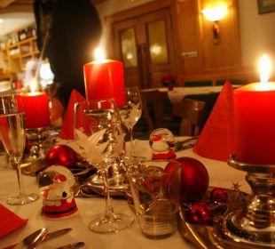 Weihnachten in unserem Restaurant Landgasthof Sonnblick