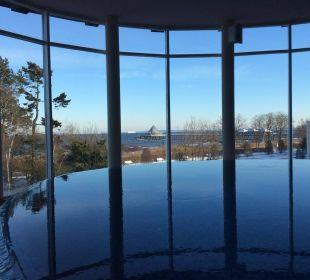 Das hoteleigene Schwimmbad Strandhotel Ostseeblick