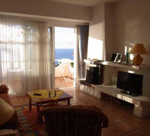 Ausblick aus unserem Zimmer Villa Opuntia