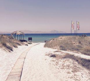 Zugang zum Tam Tam Beach Hotel Horizon Beach Resort