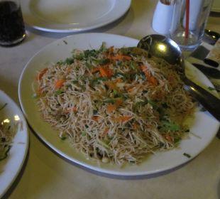 Abendessen Shalimar Hotel
