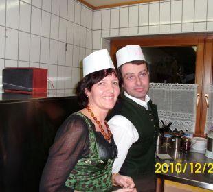 Die Inhaber Michael und Ankelika Hotel Ramerhof